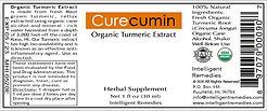Curecumin Label