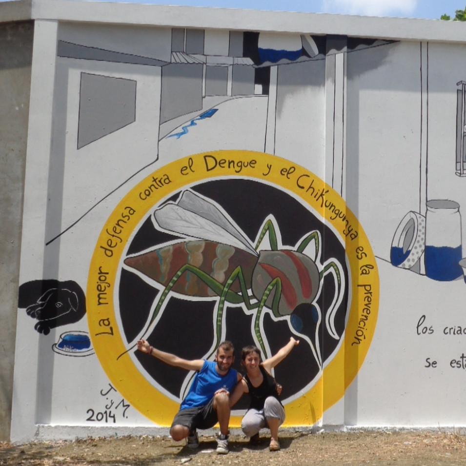 mural dengue y chicungunya