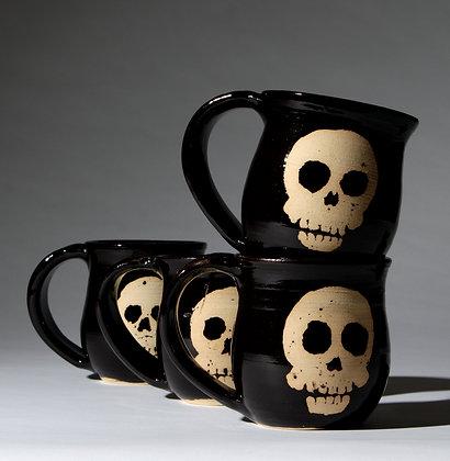 Handled Skull Mug