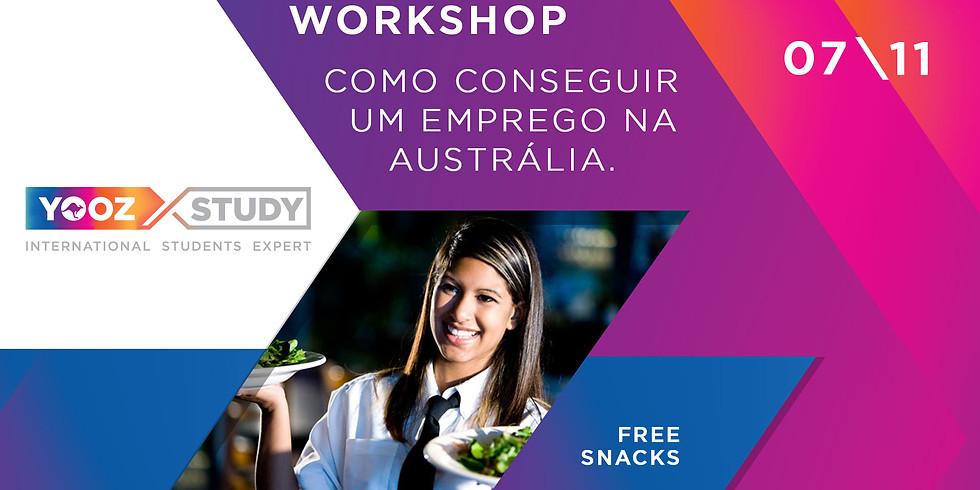 Workshop Yooz Byron Bay - Como conseguir um emprego na Austrália