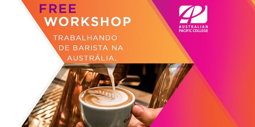 Workshop Yooz - Trabalhando de Barista na Austrália