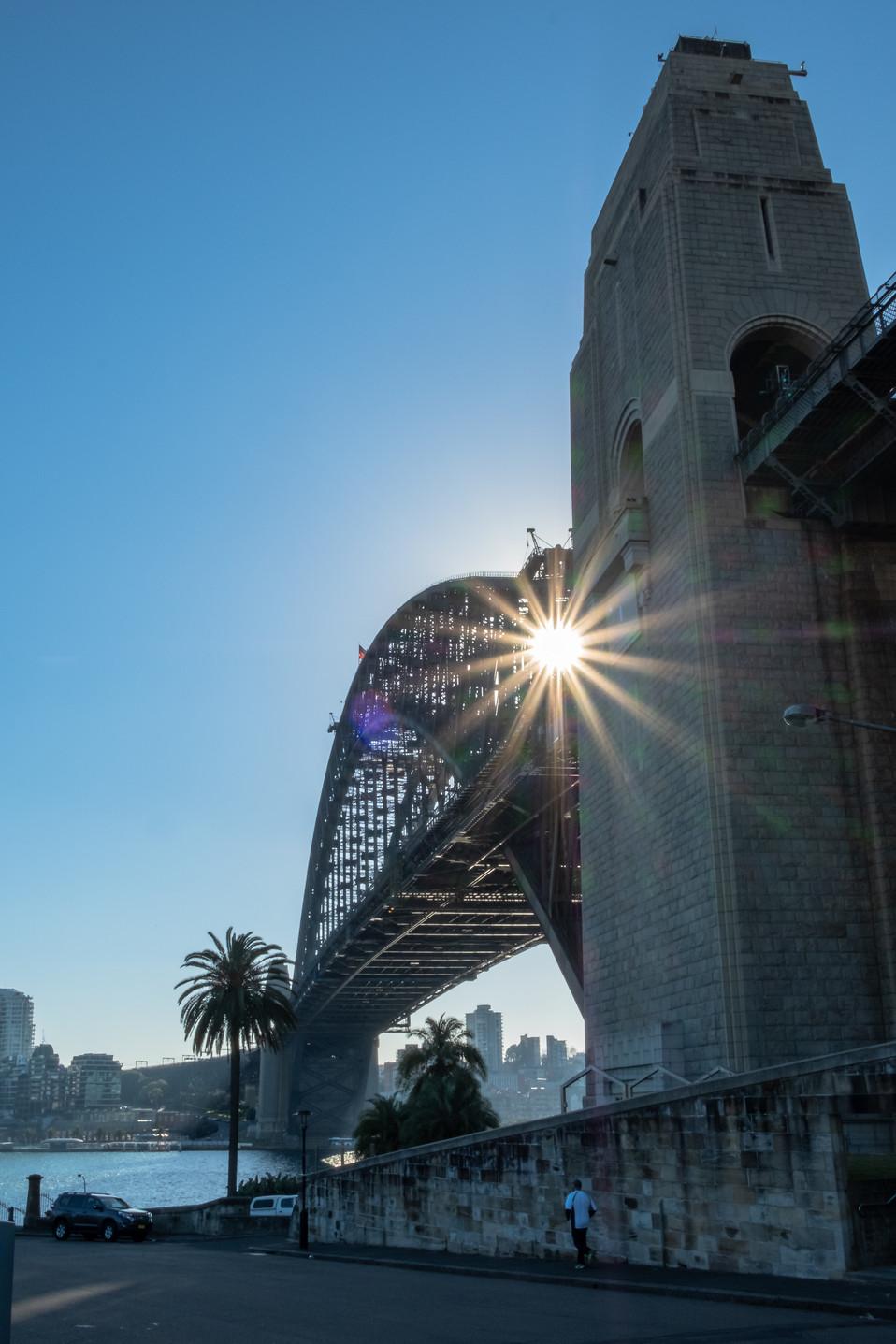 Early morning Sydney Harbour Bridge