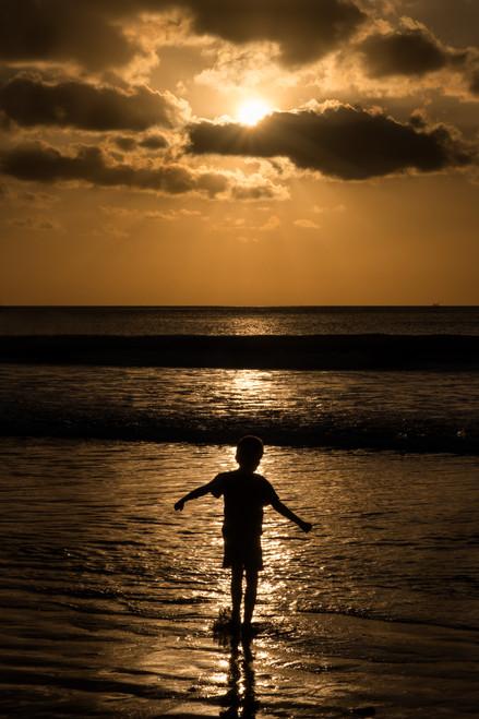 The joy of sunset