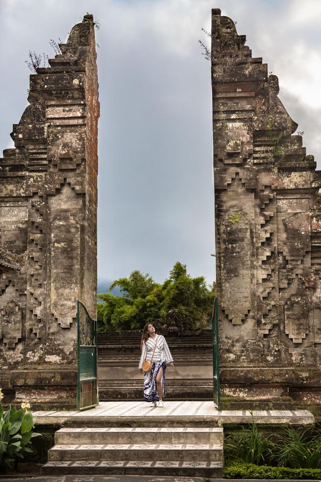 Traditional Bali gates
