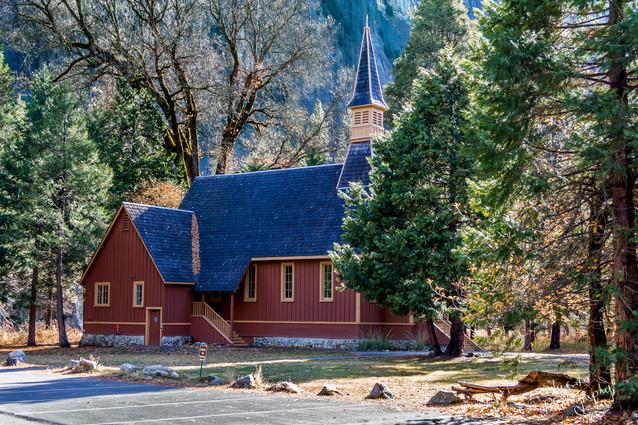Church in Yosemite National Park