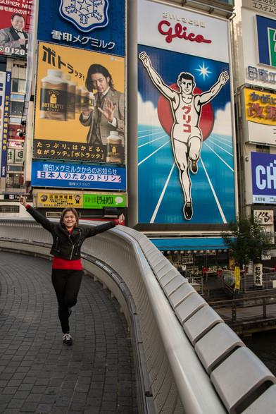 Glico running man, Osaka