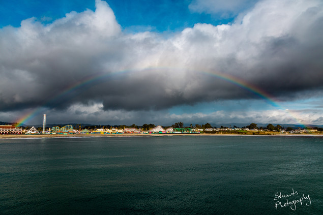 Rainbow at Santa Cruz