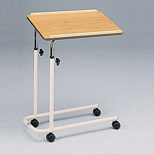 Over Bed Table, 4 castors