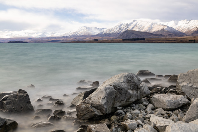 Late afternoon Lake Tekapo