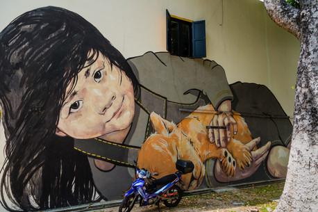 Street Art in Arab street