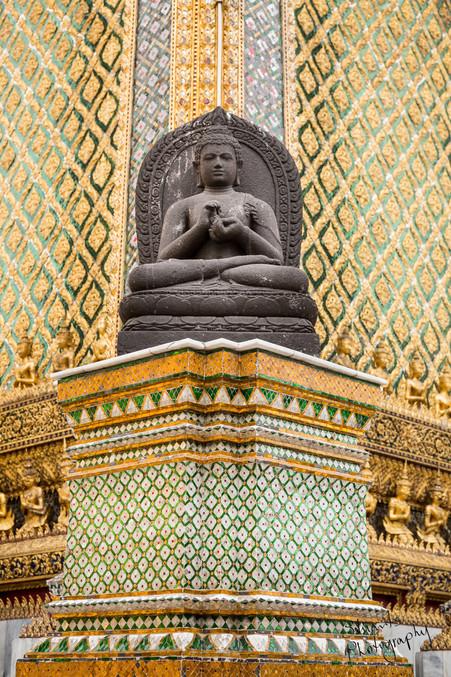 Statue at Grand Palace, Bangkok
