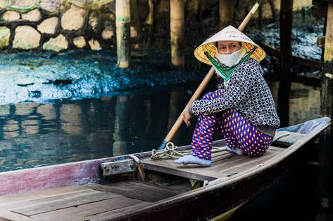 Boatlady portrait