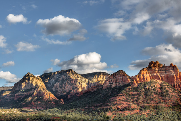 Red rocks around Sedona, Arizona