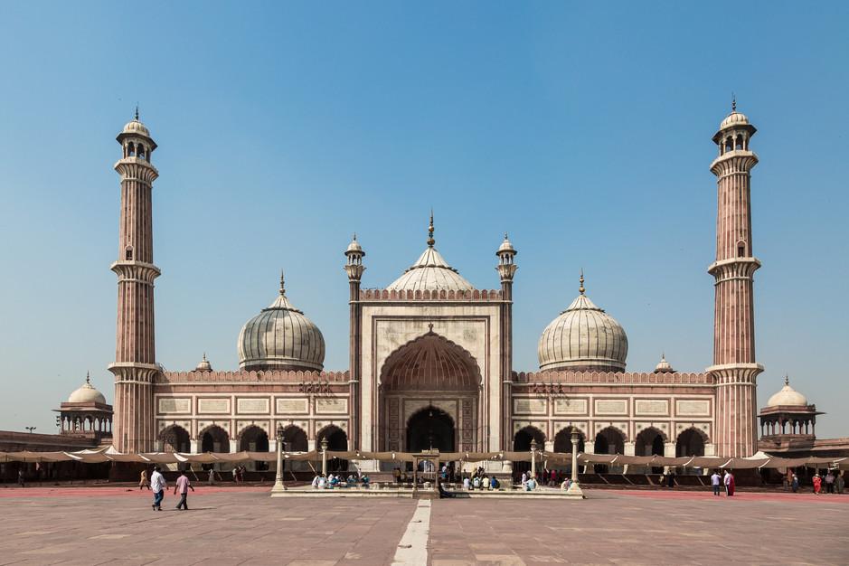 Red Fort mosque, Delhi