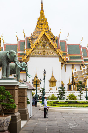 Guards at the Royal Palace, Bangkok