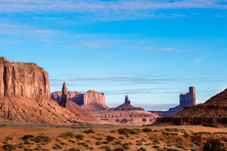 Looking deep into Monument Valley