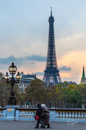 Stroll by the Eiffel Tower