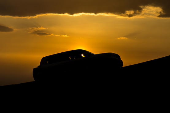 Sunset sandduning