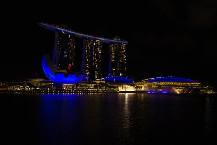Marina Bay Light Show