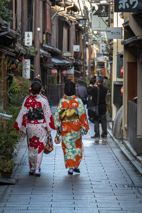 Kyoto laneways