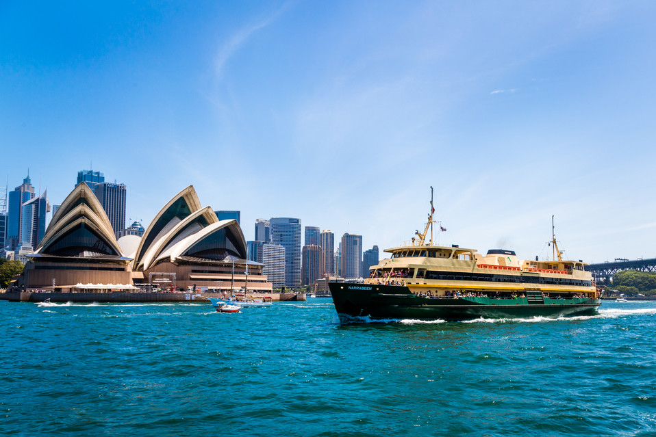 Two icons of Sydney