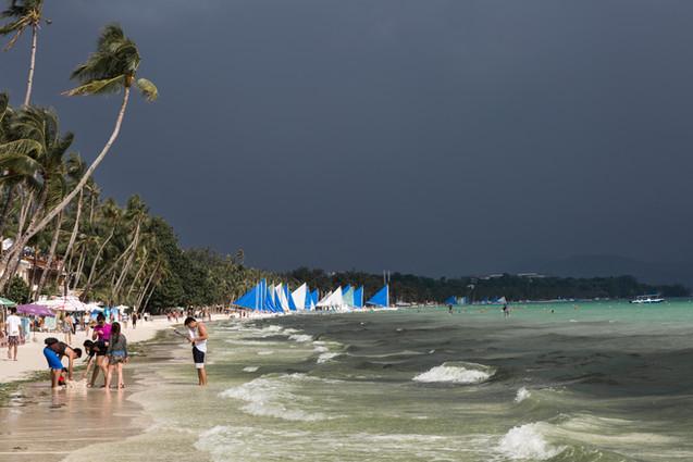 Stormy Boracay