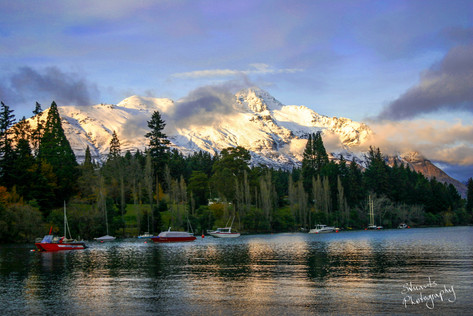 Late afternoon Queenstown