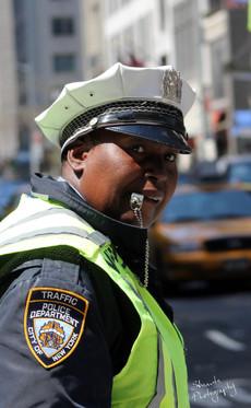 NYC traffic police