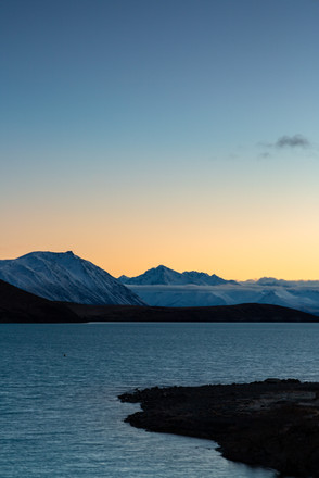 Lake Tekapo sunrise