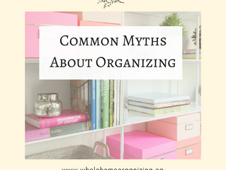 Common MythsAbout Organizing