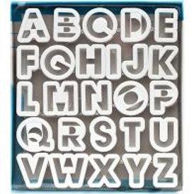 Alphabet Fondant Cutter Set