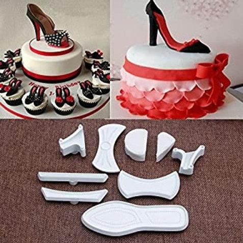 Mini High Heel Shoes 9pc