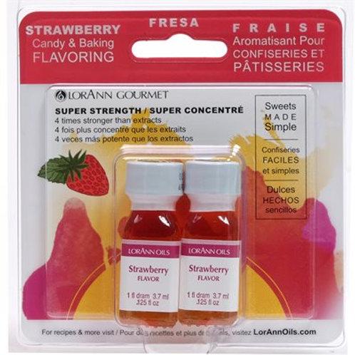 Strawberry 1 dram twin pack