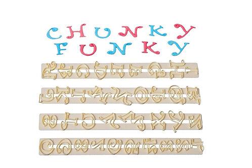Fmm funky upper case & number set 2cm
