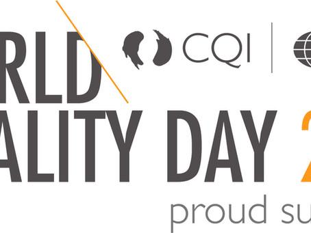 Happy world quality day!