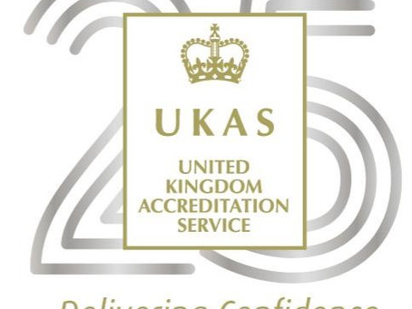 Congratulations to UKAS for 25 years.