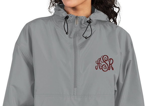 ASR Embroidered Champion Packable Anorak Jacket