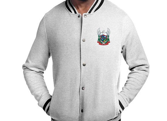ASR Crest Embroidered Champion Bomber Jacket