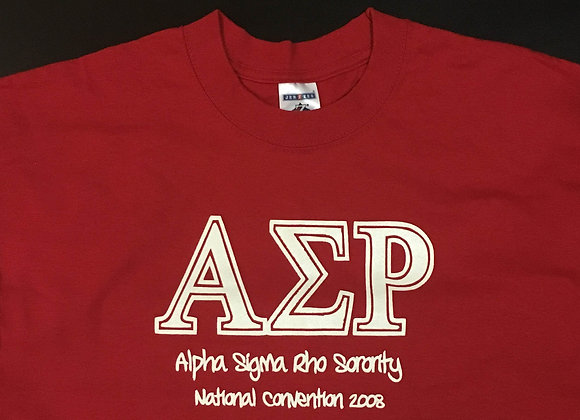 2008 Convention Shirt