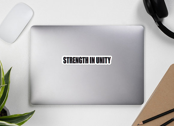 3D Strength in Unity Bubble-free stickers