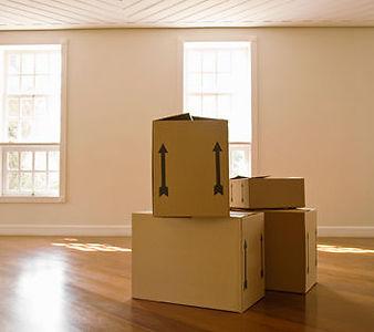 unpack boxes photo