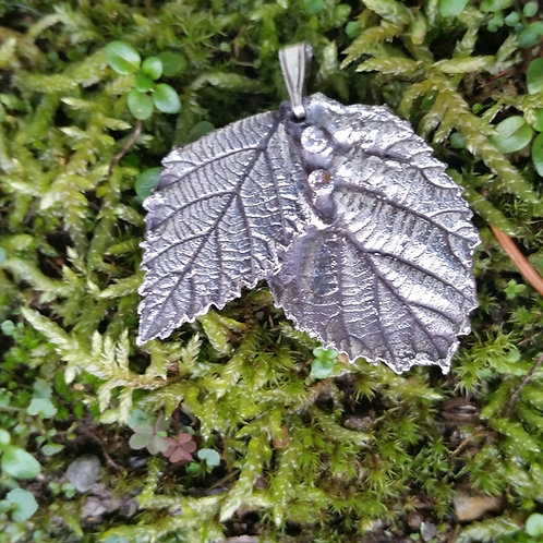 Sparkly Blackberry Leaves