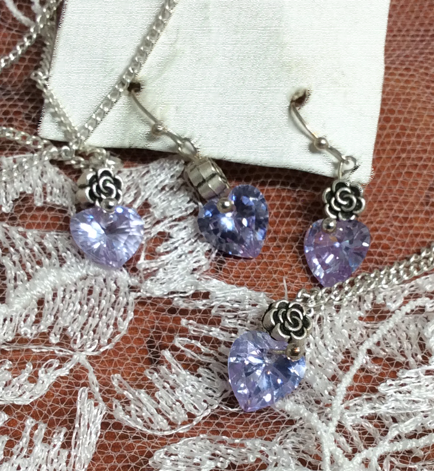 Lavender Rose Set
