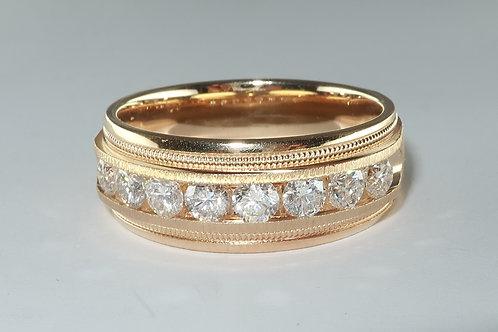 Man s Diamond Ring Approx 1.35cttw
