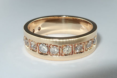 Total 1/4 cttw Diamonds Wedding or Anniversary Band