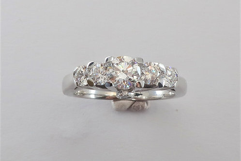1.14cttw Ladies Diamonds Engagement / Anniversary  Ring
