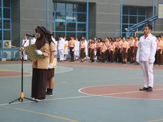 Peringatan Hari Pramuka 2017 di Sekolah Jubilee