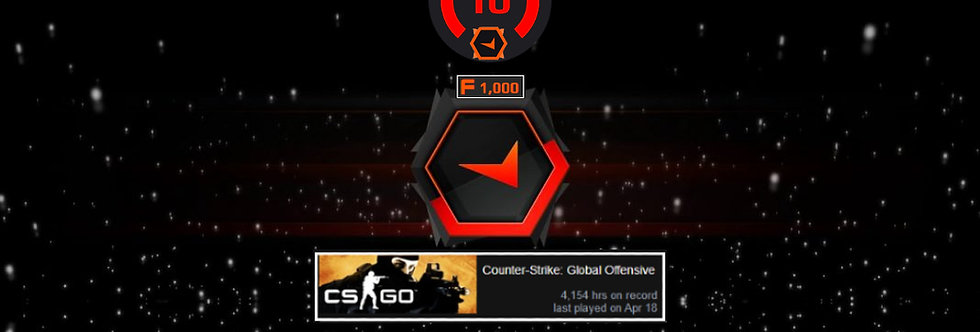 Faceit Level 10 | 1.91 K/D | 4,154 Hours | 1,000 Points | Instant Delivery