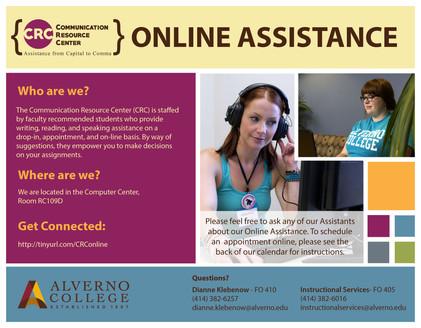 CRC Online Assistance Flyer