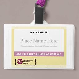 CRC Name Badge